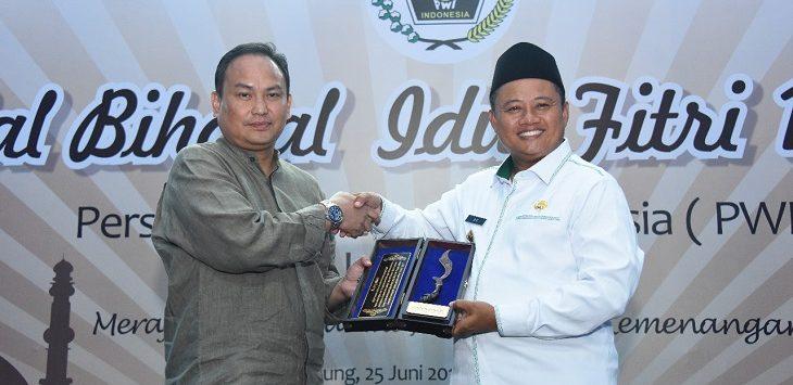 Halal Bihalal PWI Jawa Barat, Bandung, Selasa (25/6/2019)./Foto: Arief