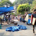 Jalan Nyi Raja Permas kembali dimasuki PKL