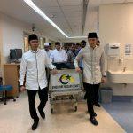 Jenazah Ani Yudhoyono dibawa SBY dan kedua anaknya (ist)