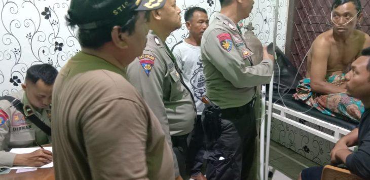 Polisi meminta keterangan korban selamat KM Nok Tantri. Ist/pojokjabar