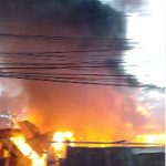 Kebakaran di Depok
