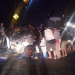 Kecelakaan di Jalur Selatan Limbangan-Malangbong