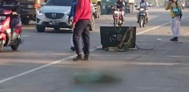 Kecelakaan di Karawang./Foto: Istimewa