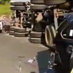 Kecelakaan di Tol Cipularang Purwakarta