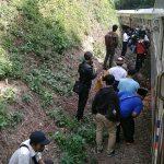 Kereta api yang anjlok di kawasan Nagreg (ist)