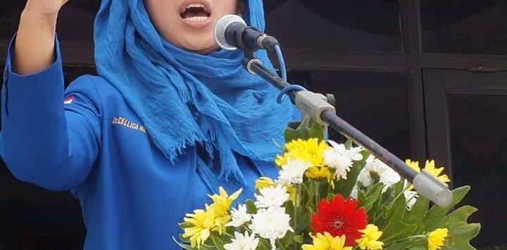 Ketua DPC Demokrat Karawang Cellica Nurrachadiana (ist)