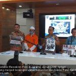 Konferensi pers simpatisan FPI Bogor yang ditangkap Bareskrim Polri (jpc)