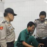 Korban kecelakaan saat dimintai keterangan oleh pihak kepolisian. Ist/pojokjabar