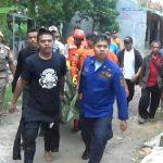 Korban tewas tenggelam di Ciliwung