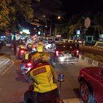 Tim gabungan patroli di sekitar Majalengka Ekspo. Foto Humas Polres for pojok jabar