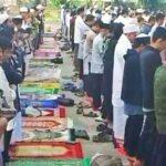 Pelaksanaan Shalat Idul Fitri di Kabupaten Garut (ist)