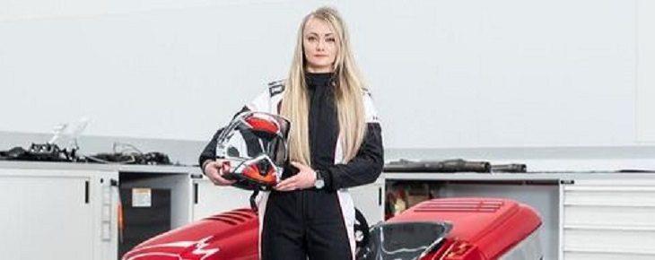 Pembalap gokart wanita bernama Jess Hawkins./Foto: Istimewa