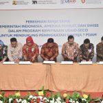 Peresmian kerja sama Pemerintah Indonesia, Amerika Serikat dan Swiss