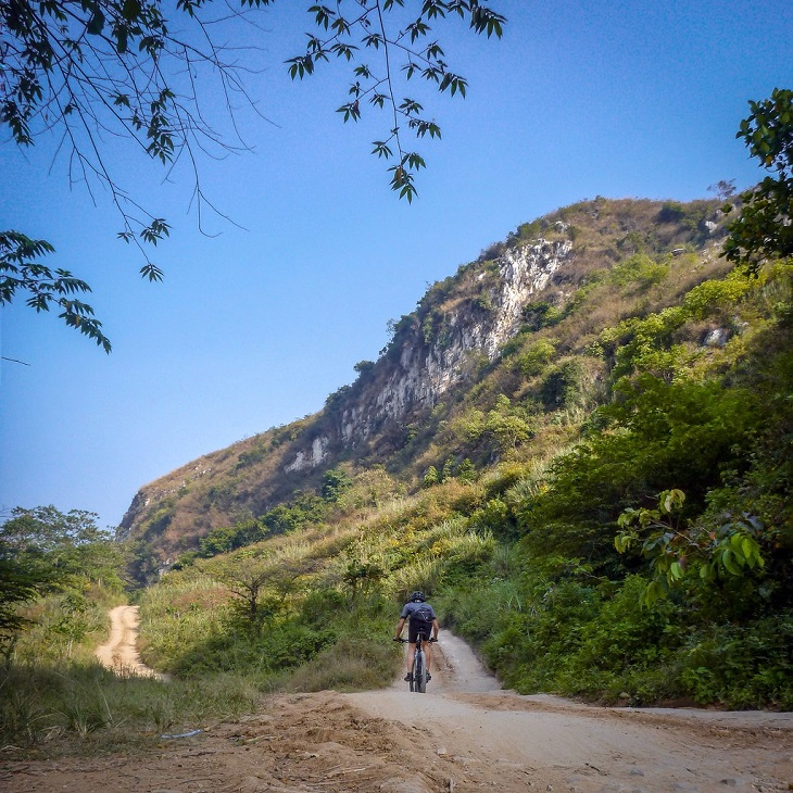 Rajamandala Karst Cycling Exploration