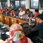 Rapat pengurus DPC PDIP Kabupaten Karawang (ega)
