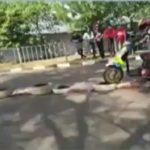 Salah satu pembalap di Sumedang lewati Racing Line