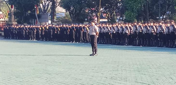 Jelang Sidang MK, Polda Jabar Siagakan Personel