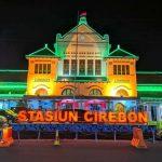 Stasiun Cirebon tampak malam hari. Kirno/pojokjabar
