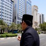 Suasana sekitar pemondokan haji di wilayah Aziziah Mekah Al-Mukarromah