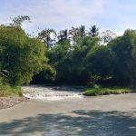 Kondisi sungai Jamblang yang tercemar oleh limbah batu alam. Ist/pojokjabar