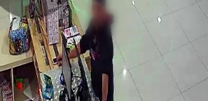 Terduga pelaku pencurian HP di Rabbani Depok./Foto: Istimewa