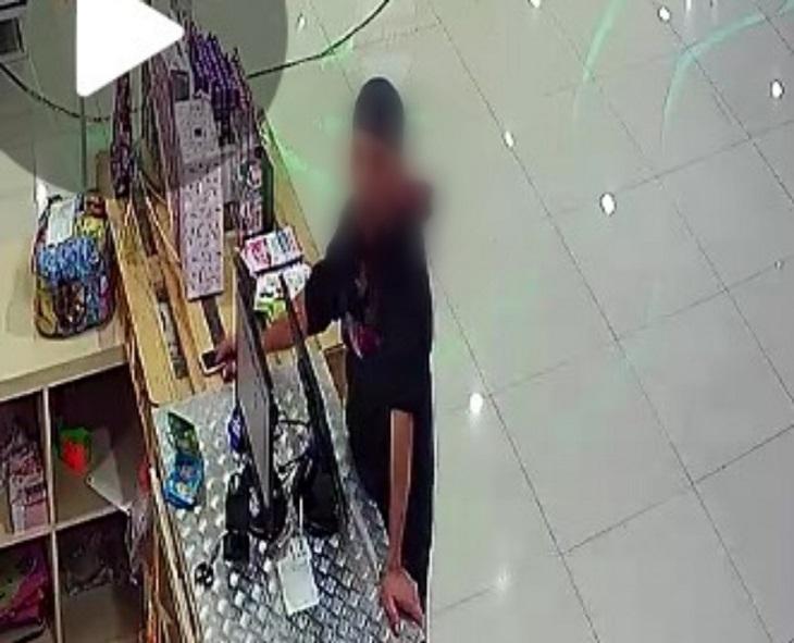 Terduga pelaku pencurian HP di Rabbani Depok