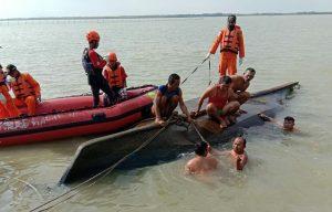 Tim SAR gabungan terus melakukan pencarian terhadap korban yang belum diketemukan atas nama Rasja. Yanto/pojokjabar