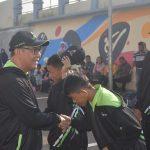 Wabup Bogor Iwan Setiawan saat lepas atlet kontingen Kabupaten Bogor