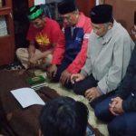 Achmad Fahmi melayat ke rumah korban (ist)