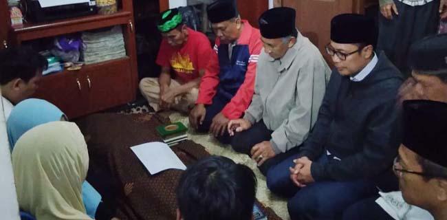 Walikota Sukabumi Achmad Fahmi melayat ke rumah korban (ist)