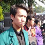 Aliansi BEM Se Bogor Raya demo di depan Balaikota Bogor (ist)