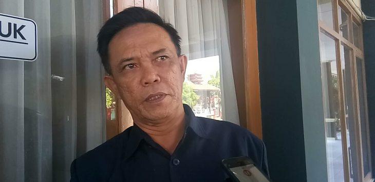 Kepala Pelaksana Badan Pencegahan Bencana Daerah (BPDB) Kuningan Agus Mauludin. Pay/pojokjabar.com
