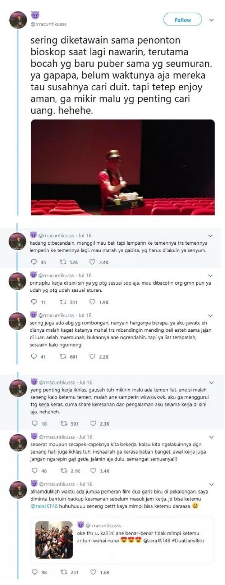 Curhat Pria Penjual Popcorn Viral di Sosial Media