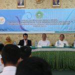 IAIN Syekh Nurjati Cirebon saat menggelar Diklat Tata Naskah Dinas Angkatan IV Wilayah Kerja Balai Diklat Keagamaan Bandung di Lantai III gedung Rektorat. Alwi/pojokjabar