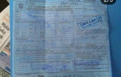 Identitas pelaku penabrak Polantas di Bandung
