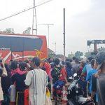 Kecelakaan Primajasa vs Sugeng Rahayu di Tasikmalaya