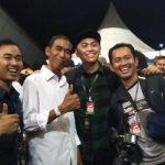 'Kembaran' Jokowi atau Jokowi KW di acara Visi Indonesia Sentul (adi)