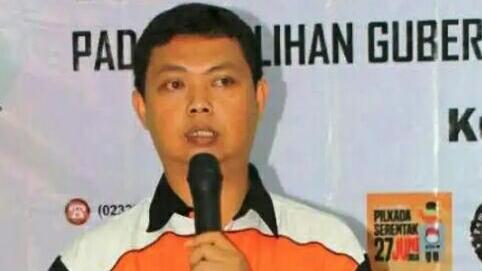 Ketua KPU Kuningan Asep Z Fauzi. Ahmad/pojokjabar