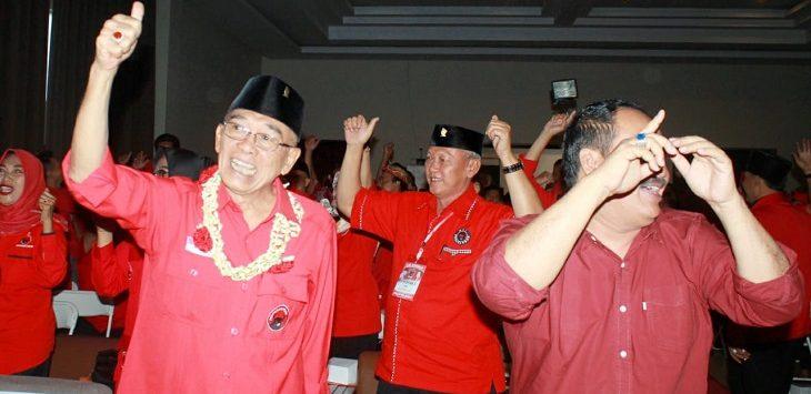 Konfercab Cabang PDI Perjuangan di Hotel Pantai Indah, Pangandaran, Minggu, (14/07/2019)./Foto: Pay
