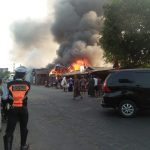 Lapak Kayu Kebakaran
