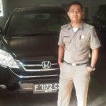 MH, terduga korupsi di Bogor