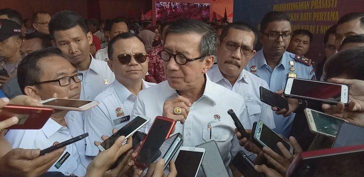 Menteri Hukum dan HAM Yasonna Hamonangan Laoly./Foto: Adi