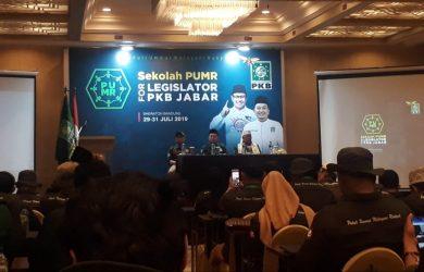 Caleg PKB 2019 terpilih mengikuti sekolah politik Pelayan Umat Melayani Rakyat (PUMR). Ahmad/pojokjabar