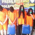 Pelaku pencurian di Bandung