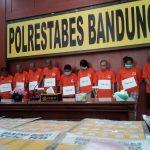Polrestabes Bandung ungkap peredaran narkoba