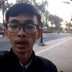 Proyek pedestrian dan trotoar di Karawang