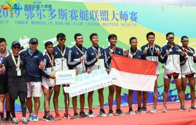 Unit Kegiatan Mahasiswa (UKM) Dayung Universitas Pendidikan Indonesia (UPI) Bandung sabet dua medali internasional. Ist/pojokjabar