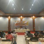 Panwascam se-Kabupaten Kuningan hadir di acara Rakor Bawaslu. Ahmad/pojokjabar