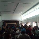 Suasana sidang vonis Habib Bahar Smith di Gedung Arsip Perpustakaan Bandung (arf)