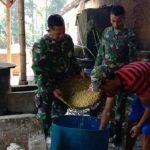 TNI dan Pembakb Majalengka
